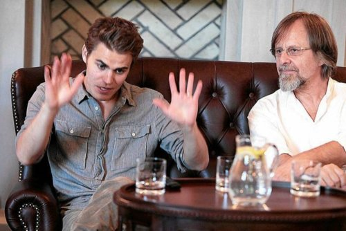 Paul Wesley in Poland
