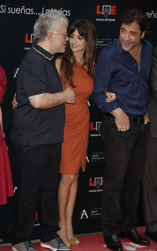 Penelope Cruz and Javier Bardem at the opening of the 'Street of Stars' in Madrid (June 27).