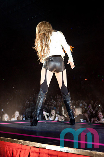 Performs At Acer Arena In Sydney 27 06 2011