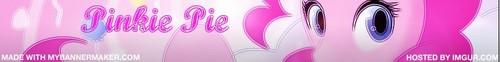 Pinkie Pie - Banner~