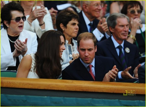 Prince William & Kate: Wimbledon Watchers