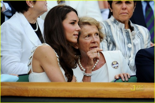 Prince William & Kate: Wimbledon Watchers