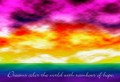 Rainbow Of Hope - colors photo