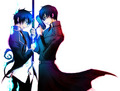 Rin and Yukio - ao-no-exorcist photo