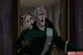 Rogue,Quicksilver - wolverine-and-the-xmen photo