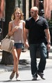 Rosie Huntington-Whitely and boyfriend Jason Statham out in New York City (June 29). - rosie-huntington-whiteley photo