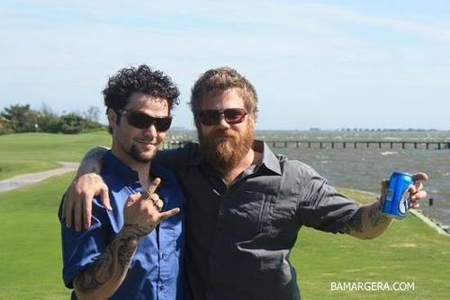 Ryan Dunn and Bam Margera