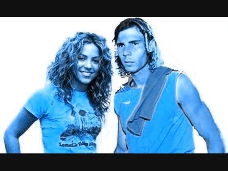 Shakira AND NADAL 2006
