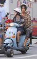 Sacha Baron Cohen and Anna Faris Film