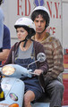 Sacha Baron Cohen and Anna Faris Film