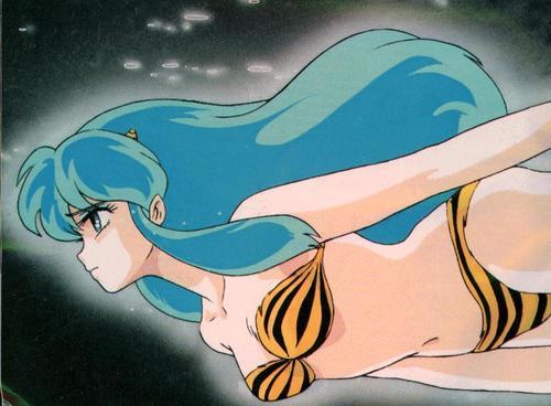 Urusei Yatsura fond d'écran probably containing animé titled Sad Lum