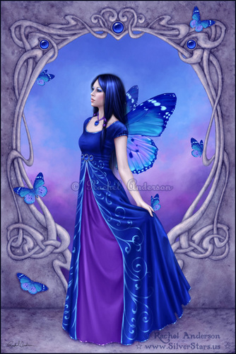 Virgo wallpaper containing a dinner dress and a gown called Sapphire - September birthstone