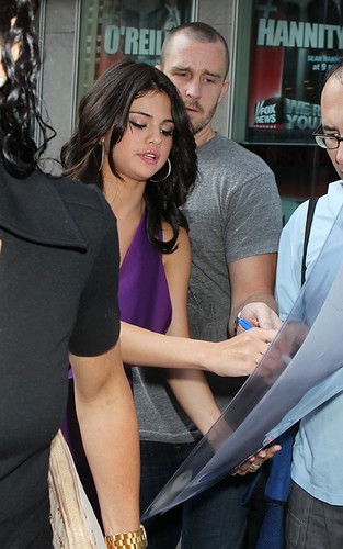 "Selena Gomez at ""FOX and Friends"" (June 29)."
