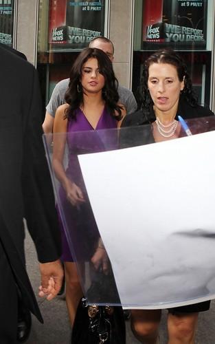 "Selena Gomez at ""FOX and Friends"" (June 29)."