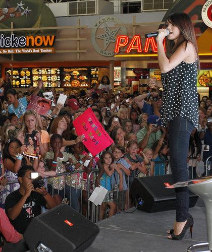 Selena - Monte Carlo Mall Tour @ Grapevine Mills - June 14, 2011
