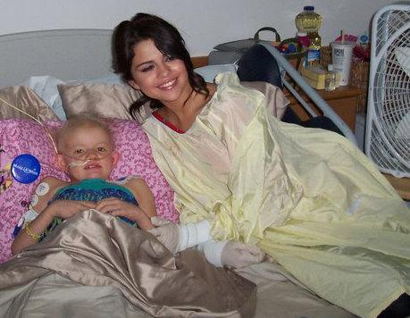 Selena - Visiting a Hospital in Boston - June 24, 2011