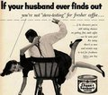 Sexists ads from the 1950's - feminism photo