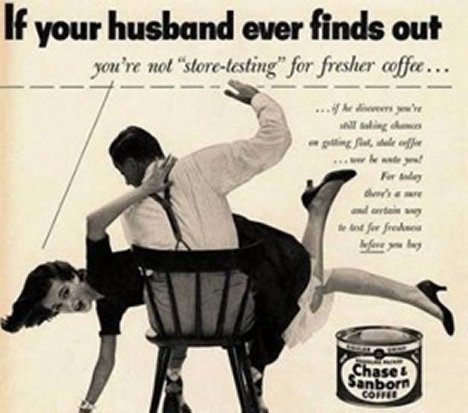 Feminism 바탕화면 containing 아니메 called Sexists ads from the 1950's