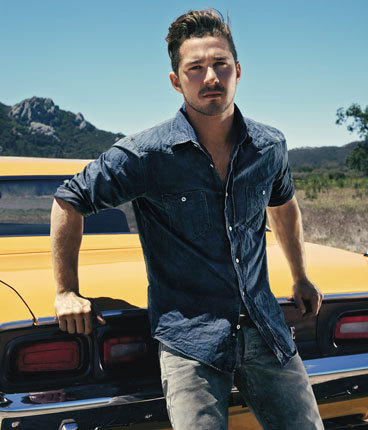 Shia LaBeouf wallpaper possibly containing an automobile entitled Shia LaBeouf - Details Magazine (August 2011)