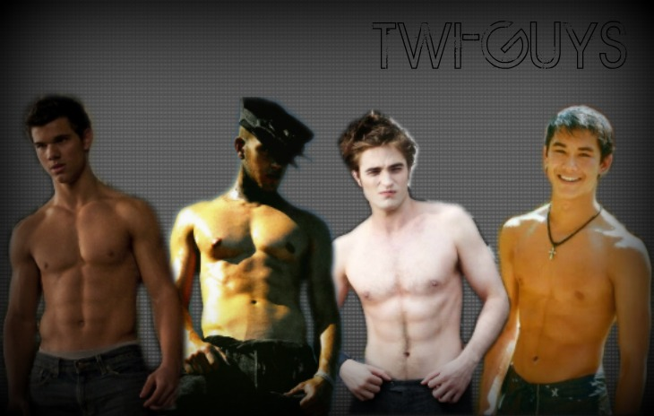 Shirtless Twi-Guys