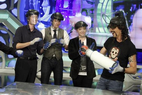 """Show """"El Hormiguero"""",27 June 2011"""