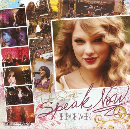 Speak Now Release Week Book