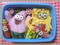 Spongebob Bento (Japanese lunch box)