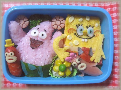 Spongebob Bento (Japanese lunch box)