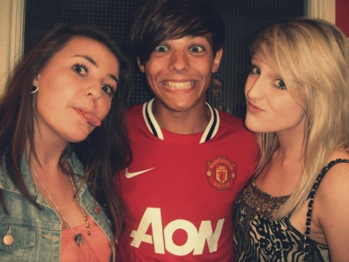 Sweet Louis Wiv Fans After Playing A Football Game In Doncaster! 100% Real ♥