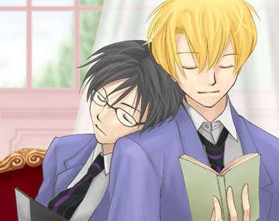 Tamaki & Kyoya