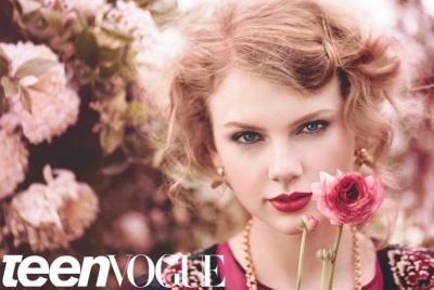 Taylor быстрый, стремительный, свифт Teen Vogue August 2011