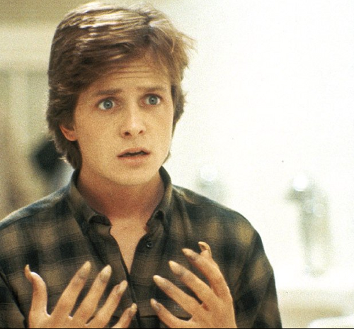 Michael J Fox wallpaper possibly containing a portrait titled Teen Wolf