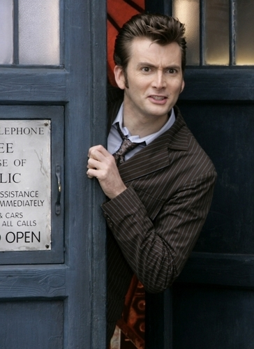 The Tenth Doctor wallpaper with a business suit called Ten