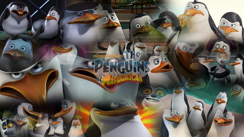 The Penguins Of Madagascar Collage By: PenguinStyle - Skipper Ronaldo!