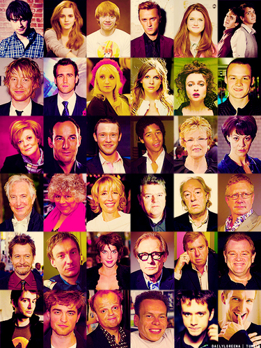 The great cast