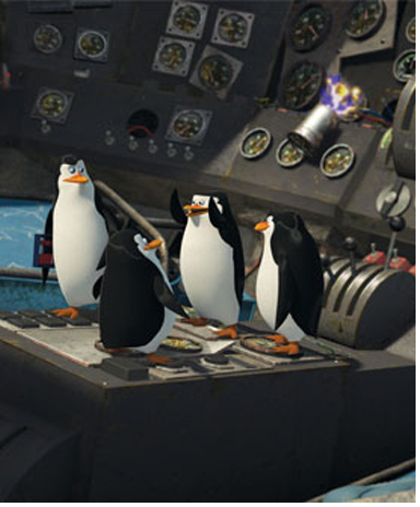 The penguins of madagascar 2 scene