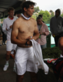 Tomas Berdych and Rafael Nadal Wimbledon 2011 - tennis photo