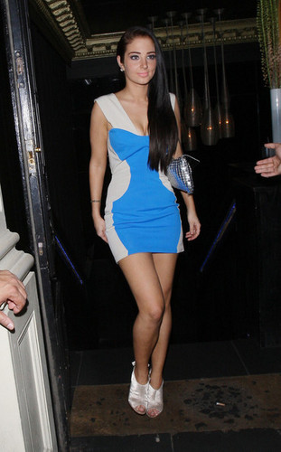 Tulisa Contostavlos Leaves Movida Nightclub - tulisa-contostavlos Photo
