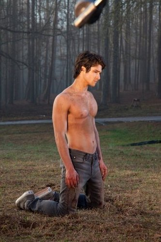Teen loup fond d'écran with a gros morceau, hunk called Tyler Posey
