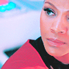Zoë Saldaña as Uhura photo containing a portrait entitled Uhura