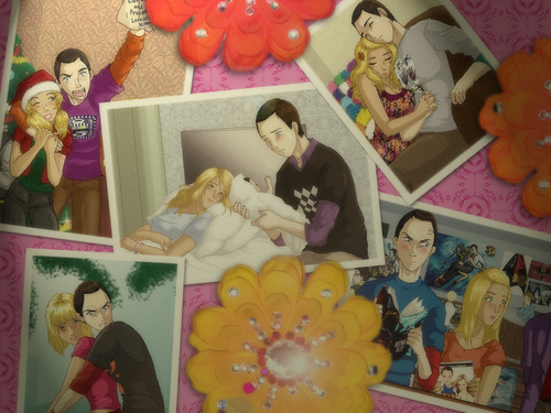 Wall of memories.. - the-big-bang-theory Wallpaper