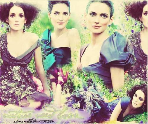 Winona Ryder wallpaper containing a portrait entitled Winona Ryder