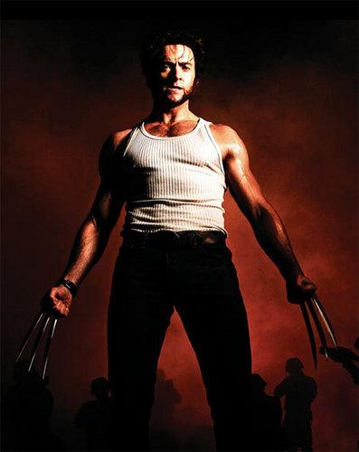 Hugh Jackman as Wolverine wolpeyper titled Wolverine