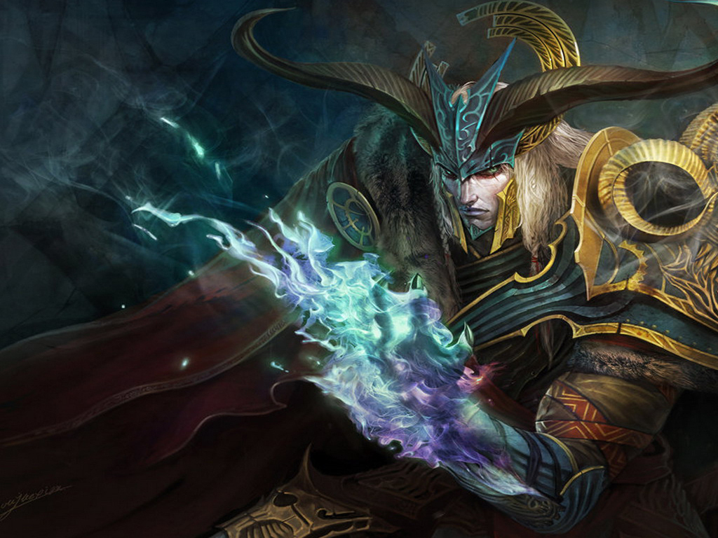 Fantasy world of warcraft