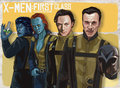 X-MEN First Class - x-men-the-movie fan art