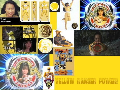 Yellow Ranger Power - mighty-morphin-power-rangers Fan Art