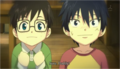 ao-no-exorcist - Young Rin and Yukio screencap