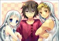 Yukiatsu and Menma (LOL)