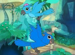 cute blu and jewel