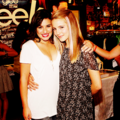dianna&lea;  - lea-michele-and-dianna-agron photo